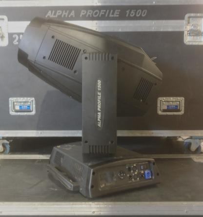 Clay Paky Alpha Profile 1500 Lighting Fixture