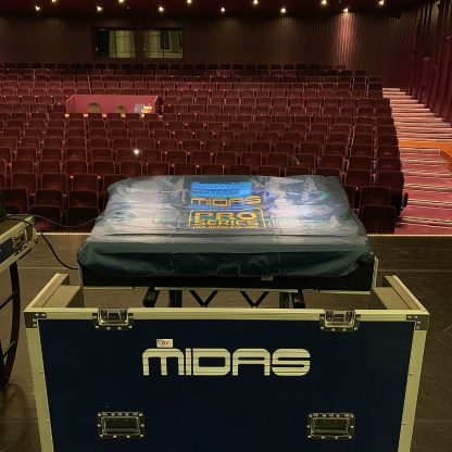 Midas PRO 2 TP and DL251 Stagerack