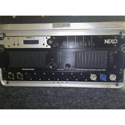 NEXO ALPHA E 4 STACKS + NEXO ALPHA B2 SUBS.