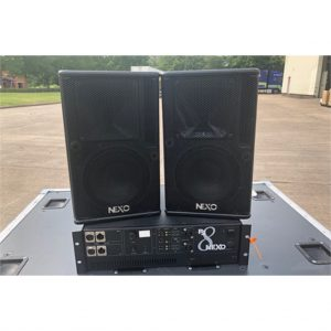 NEXO PS8 and Amplifier Package
