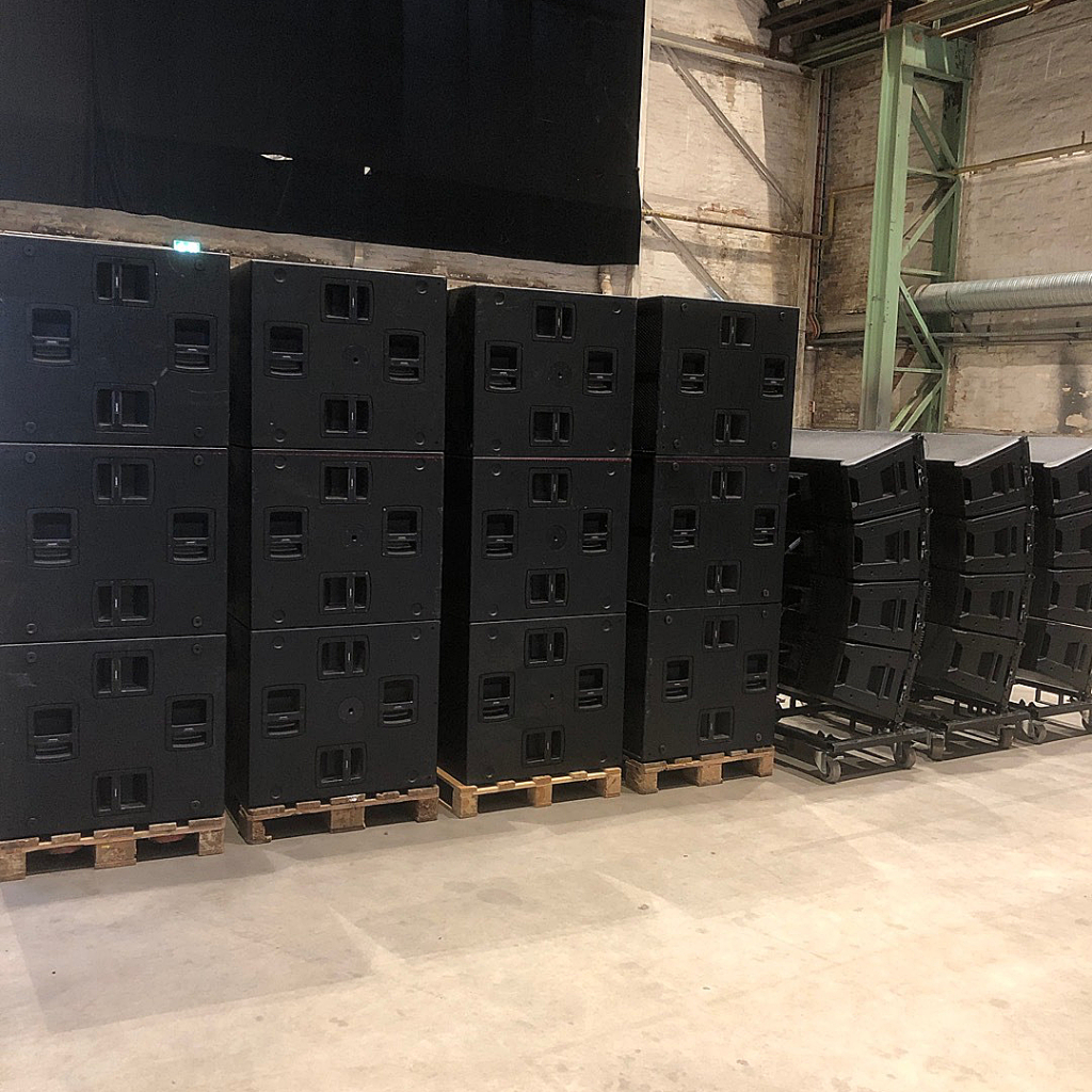 RCF HDL 50 Line Array System – Buy now from 10Kused