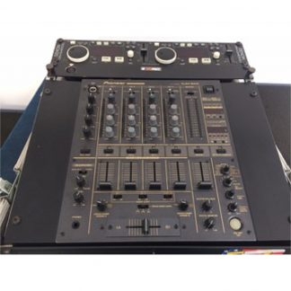 Pioneer DJM 600 DJ Mixer and Denon CD Player