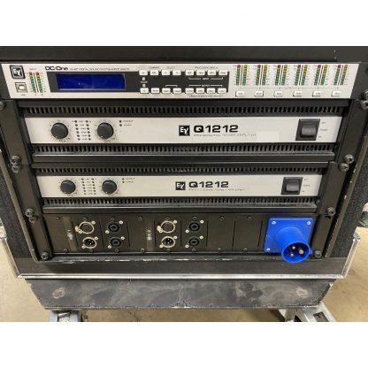 Electrovoice Q1212 and PX1122M PA/Monitor System