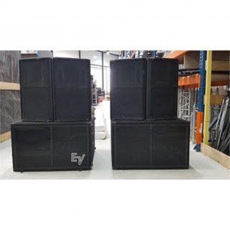 Electrovoice DML1152 Loudspeaker and DML1881 Subwoofer