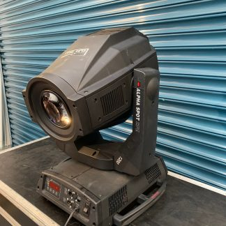 Clay Paky Alpha Spot HPE 1200 Moving Head Lighting Fixture