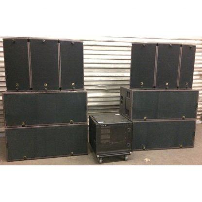 L-acoustics ARCS II and SB28 Set incl LA-RAK
