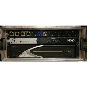 Nexo PS15 R2 Amprack (Camco 200V/PS15 TD Controller)