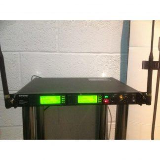 Shure UR4D+ Dual Wireless Receiver