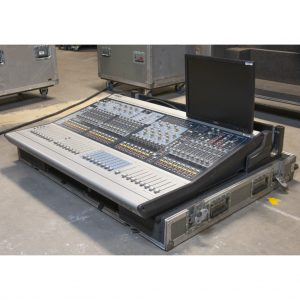 Avid Digidesign D-Show Profile with FOH and Stage rack
