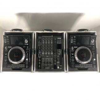 Denon DJ X1800 DJ Club mixer and SC5000 Media player Set