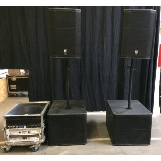 JBL SRX and PRX PA System incl. Crown Amp
