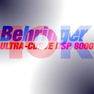 10Kused-Behringer-ULTRA-CURVE-DSP-8000