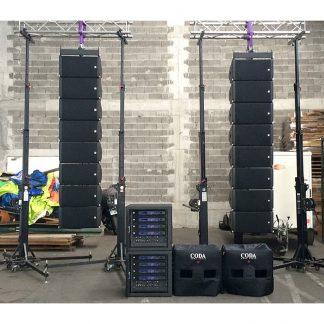 Coda Audio AiRAY Sound System