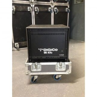 DiGiCo SD11i, D2 Rack and BNC Cables