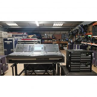 Yamaha CL5 with 2 x Rio 32/24 Stageboxes