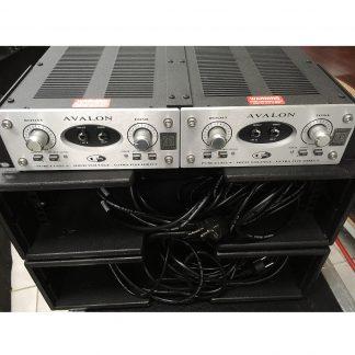 Avalon U5 direct box with double rackmount kit