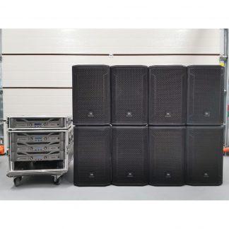 JBL STX812m Loudspeaker and Crown XTi 1002 Amplifier