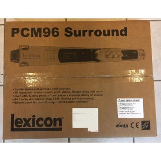 Lexicon PCM96 Parallel Stereo and Surround Reverb/Effects Processor