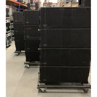 NEXT-proaudio LA212X, LAS418 and AMPRack Line Array System