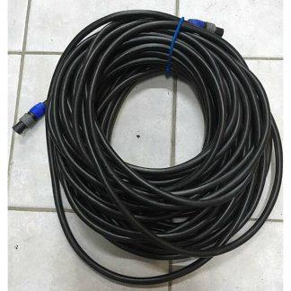 Neutrik SpeakON 2P 2x4mm2 - 30m Loudspeaker Cables