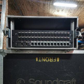 Soundcraft Mini Stage Box 32 (Digital Stage box) with Madi/USB Card