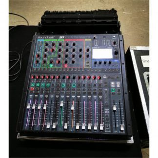 Soundcraft Si Compact 16 digital live sound mixer