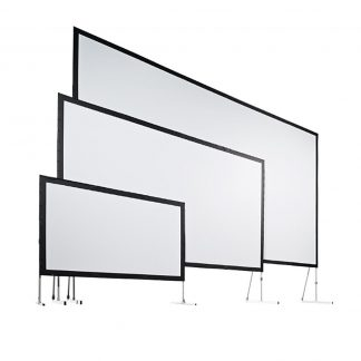 AV Stumpfl Vario 32 2,8x2,1m with front and back projection screen