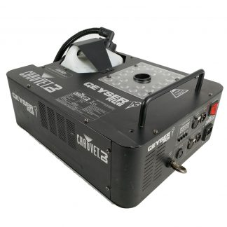 Chauvet Geyser RGB fog machine with built-in LED lighting