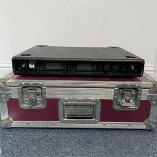 Shure UR4D+ 2 Way Dual Wireless Receiver Kit Bodypack Range K4