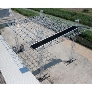 ALUSPACE 14x12 mt aluminium truss system