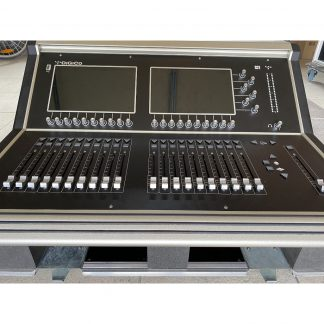 DiGiCo S21 Mixer and D2 Rack Stagebox (48 in / 24 out)