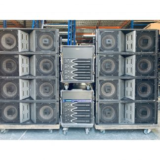 JBL Vertec VT4888, Camco Vortex 6 and XTA DP448 Package