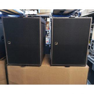 L-Acoustics SB18M Subwoofer Set (2)