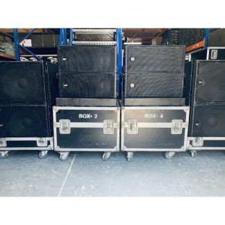 RCF HDL-20A Line Array Tops and RCF HDL-18AS Subwoofers Package