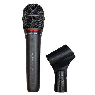 Audio-Technica AE6100 hyper cardioid dynamic vocal microphone
