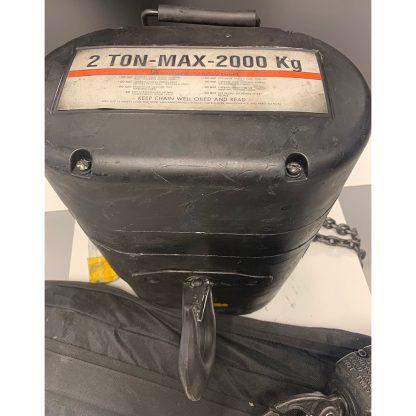 CM Lodestar RR 2000KG D8 4m/pm 30m double chain