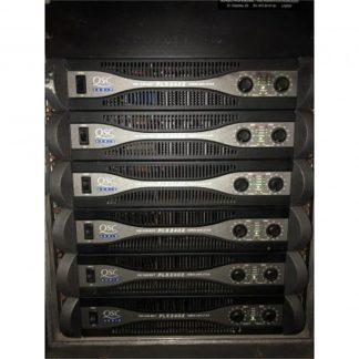 QSC PLX 2402 Professional Power Amplifier Rack (6)