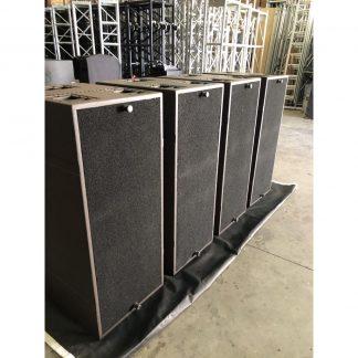 L-Acoustics SB218 Subwoofers and L-Acoustics LA8 R3 Amplifier Package