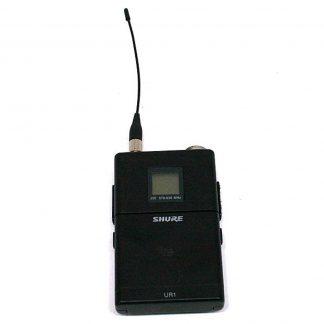 Shure UR1 bodypack transmitter - J5E