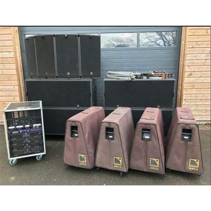 L-Acoustics ARCS Line Array Speaker and SB28 Subwoofer System