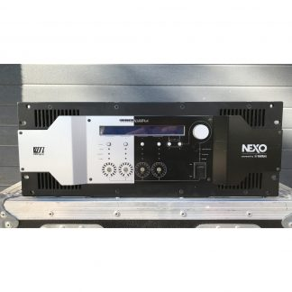 NEXO NXAMP 4X4 power amplifier and loudspeaker controller