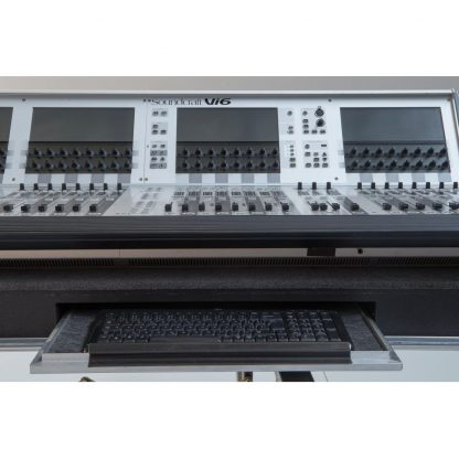Soundcraft Vi600 with Realtime Rack and Computer