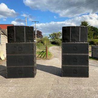 L-Acoustics ARCS Loudspeakers and SB218 Subwoofer package