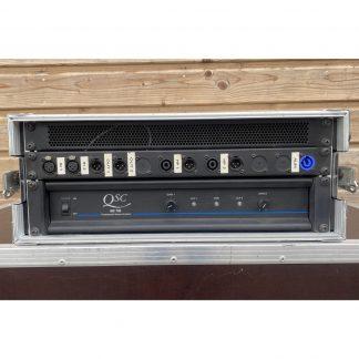 QSC MX 700 Professional Stereo Amplifier Set