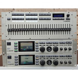 TC Electronic Motorfader 64 Audio Controller and 2 x EQ 8 AES Station Set