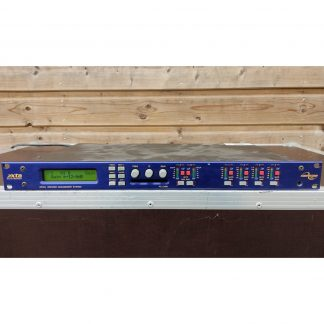 XTA DP224 2-in, 4-out broadcast processor and 8-band parametric equaliser