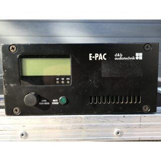d&b Audiotechnik E-PAC compact single-channel DSP controller/amplifier