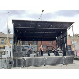Stage Partner 8m wide Outdoor Mobile Stage