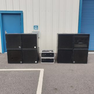 d&b Audiotechnik C4 Set (4 x BASS and 4 x TOP)