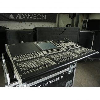 DiGiCo SD8 Digital Mixing Console and D2 Rack 48/24 Package